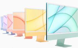 M1 iMacは旧世代のハイエンド21.5インチiMacよりも最大56%高速化