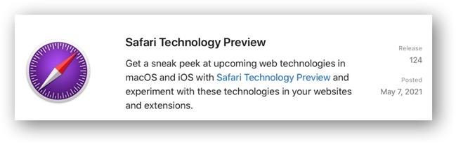 Safari Technology Preview 124