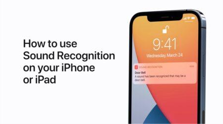 Apple Support、iPhoneまたはiPadで音声認識を使用する方法のハウツービデオを公開