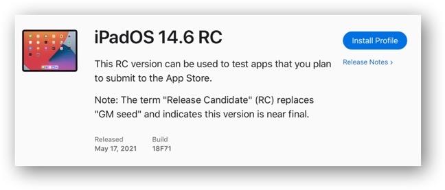IPadOS 14 6 RC 00001