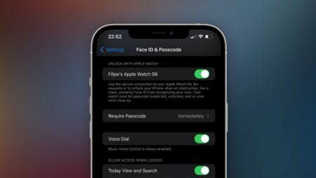 iOS 15、「Apple Watchでロック解除」機能でSiriのパーソナルリクエストが可能に