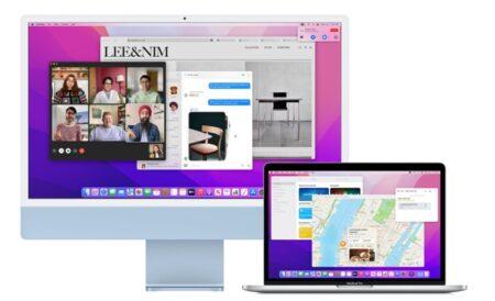 新しいMacでは、macOS Montereyで別のMacを外部ディスプレイとして使用可能に