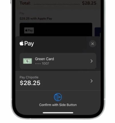 Apple Pay get coupon 00001
