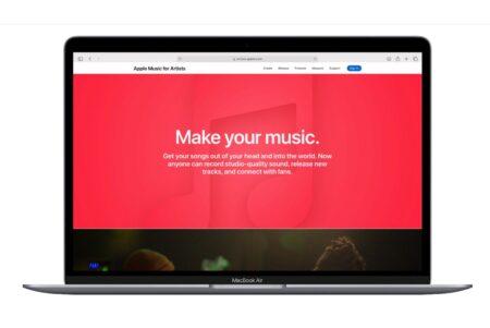 Apple、Apple Musicのアーティスト向けサイトをリニューアル