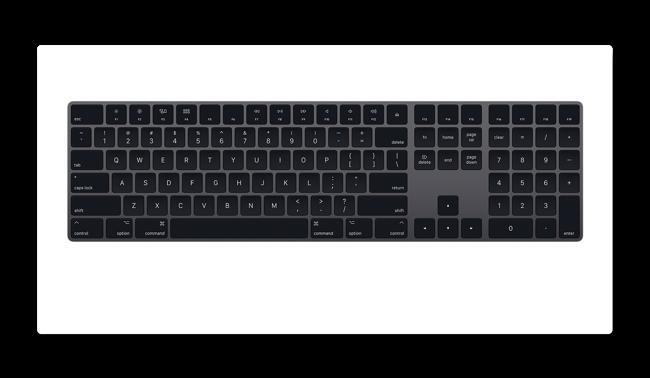 Magic Keyboard Gray 001