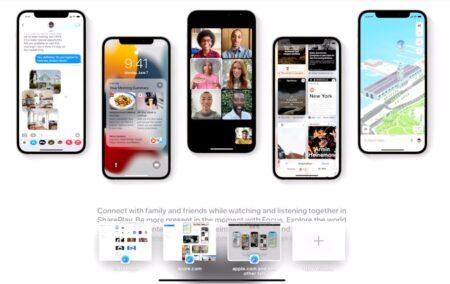 Apple の iPadOS 15の強力な新しい iPad マルチタスク機能をビデオで紹介