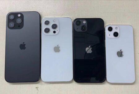 iPhone 13のダミーモデル、カメラモジュールの位置が変更され、「Pro Max」はより大きなバンプを示す
