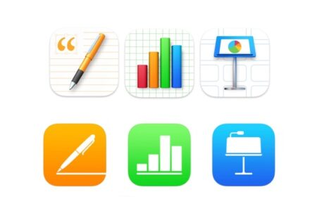 Apple、iWork for MacおよびiOSのPages 、Numbers 、Keynoteをリリース