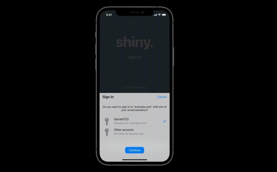 AppleはパスワードをiPhoneまたはMacに置き換えたいと考えている