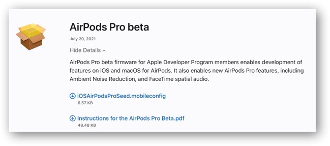 AirPods Beta