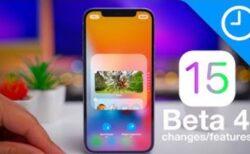 iOS 15 beta 4の変更と機能のハンズオンビデオを公開