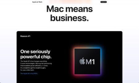 Apple、ビジネスユーザーがMacを選ぶべき11の理由を公表