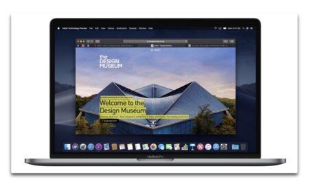 【Mac】Apple、macOS Monterey機能を搭載した「Safari Technology Preview Release 127」を開発者にリリース