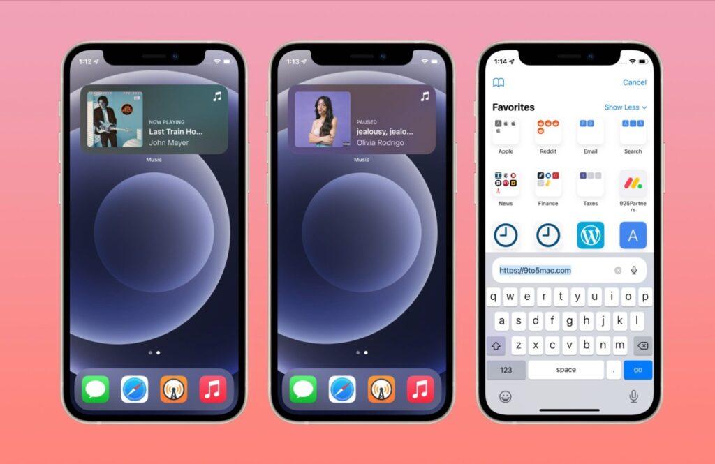 iOS15およびiPadOS15 Beta 3の新機能と変更点