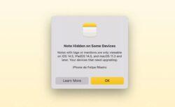 iOS 15、iPadOS 15およびmacOS Montereyで作成したメモは、以前のOSバージョンでは使用できない場合がある
