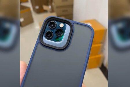 リークされたiPhone 13 Pro Maxのケースは、カメラモジュールが大幅に大きくなることがわかる