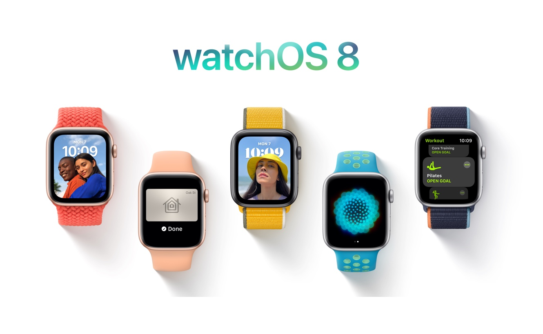 Apple、「watchOS 8 Developer beta 4 (19R5312e)」を開発者にリリース