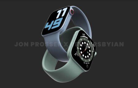 Apple Watch Series 7のケースサイズが41mmと45mmになるとの噂