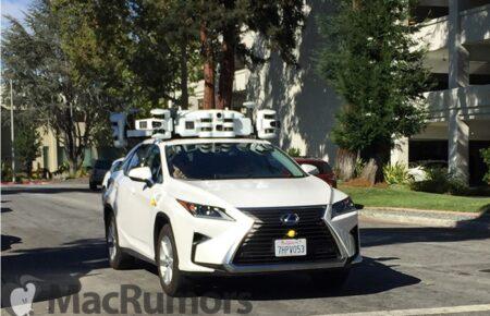 Appleがカリフォルニアで自動運転車の保有台数を拡大