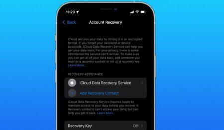 iOS 15およびiPadOS 15でiCloudデータ復旧オプションが追加、その設定方法は