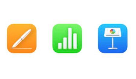 macOS 12 Monterey Beta 5、iWorkのアイコンを更新