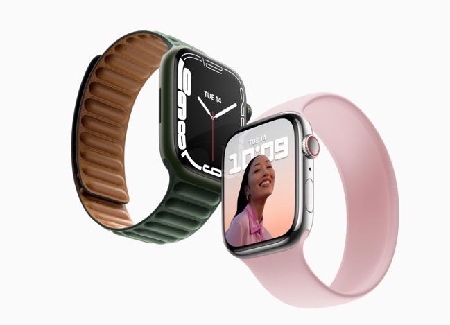 Apple Watch Series 7、前モデルと同じプロセッサを採用