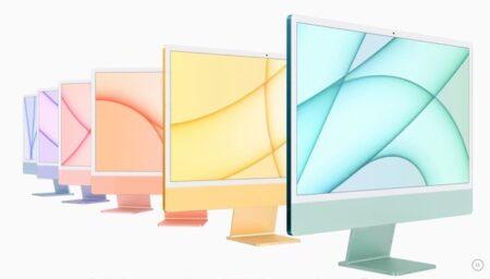 Apple、新しい24インチ M1 iMacの全色販売を近日中にApple Storeで開始