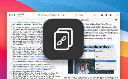 【Mac】マークダウンリンクを作成する無料のSafari拡張機能「URL Linker」がリリース