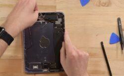 iFixitのiPad mini 6の分解で、「ゼリースクロール」や「修理性の欠如」について詳しく説明