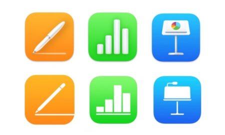 Appleは、Pages、Numbers、KeynoteをiOS 15とmacOS Monterey向けの新機能でアップデート