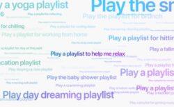 Apple Musicの新しいムード&アクティビティ・プレイリスト250以上からお好みのプレイリストを表示