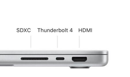 新しいMacBook ProモデルはHDMI 2.0に限定