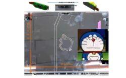新しいMacBook Proのノッチ付きディスプレイの写真が流出か?