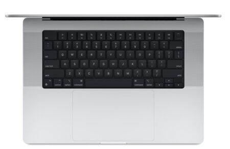 新MacBook Proキーボードはオールブラックのデザイン、フルサイズのファンクションキー、Touch IDリング
