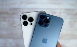 iPhone 13 ProとiPhone 12 Proは、ほぼ同じ価格ですがiPhone 13 Proの製造コストが約20ドル高い
